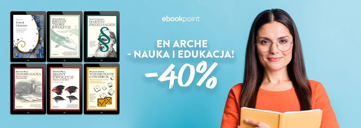 Promocja na ebooki En Arche - dla ciekawych świata!