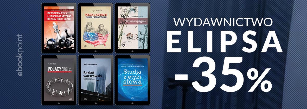 Promocja na ebooki Wydawnictwo ELIPSA / -35%