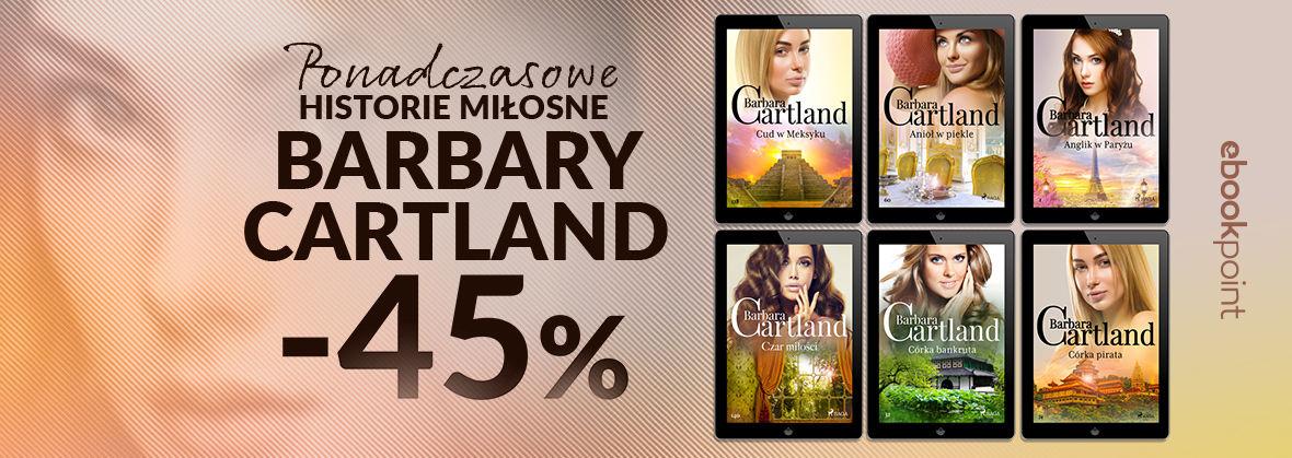 Promocja na ebooki Ponadczasowe historie miłosne BARBARY CARTLAND / -45%
