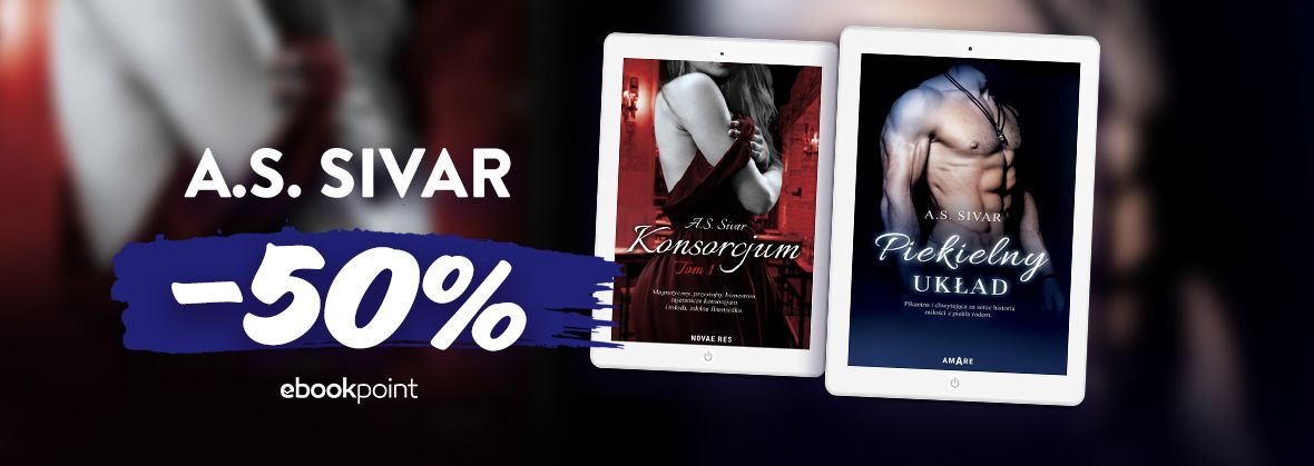 Promocja na ebooki A.S. Sivar / -50%