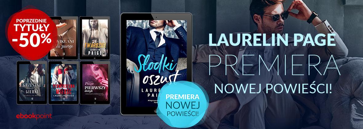 Promocja na ebooki LAURELIN PAGE / Premiera nowej powieści / Poprzednie tytuły autorki -50%