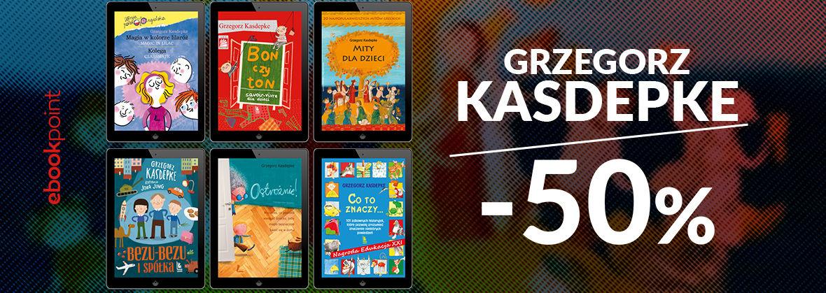 Promocja na ebooki Grzegorz KASDEPKE / -50%
