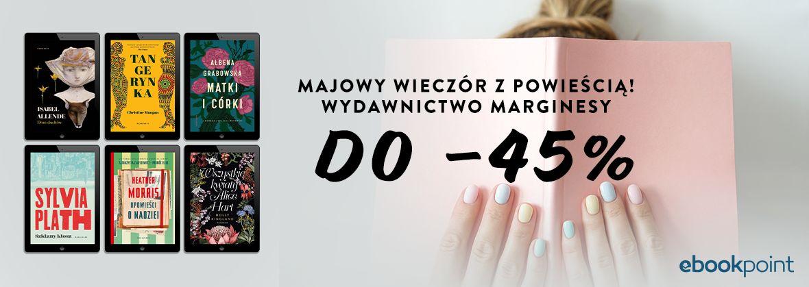 Promocja na ebooki Majowy wieczór z powieścią! /do -45%