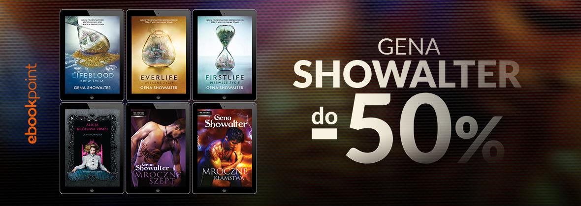 Promocja na ebooki GENA SHOWALTER / do -50%