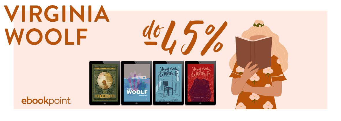 Promocja na ebooki Virginia WOOLF / do -45%