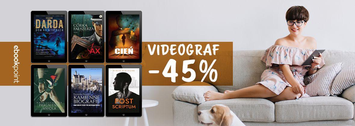 Promocja na ebooki Videograf -45%