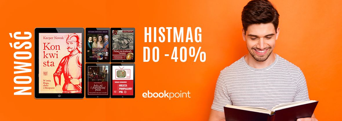 Promocja na ebooki Historia dla każdego! [histmag do -40%]
