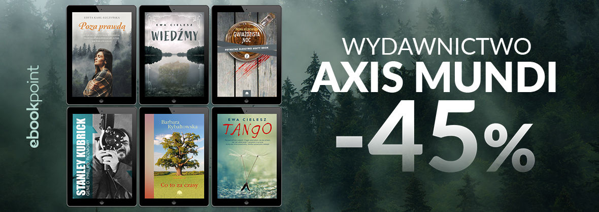 Promocja na ebooki Axis Mundi [-45%]