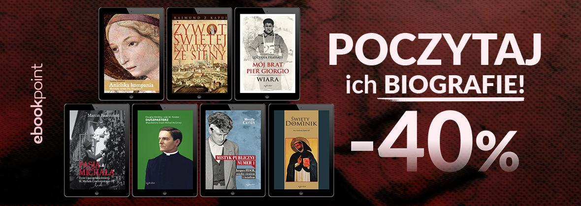 Promocja na ebooki Poczytaj biografie! [-40%]