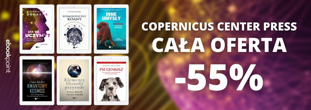 Promocja na ebooki Copernicus Center Press / CAŁA OFERTA -55%!