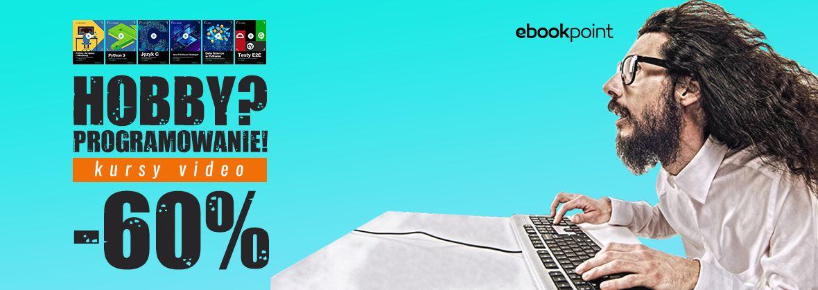 Promocja na ebooki Hobby? Programowanie! [-60%]