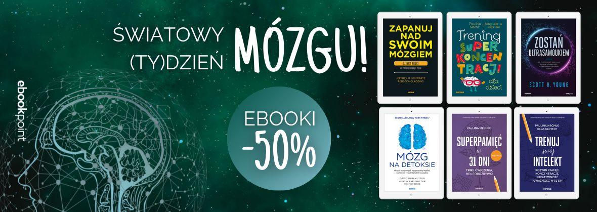 Promocja na ebooki Światowy Dzień MÓZGU! / Ebooki -50%