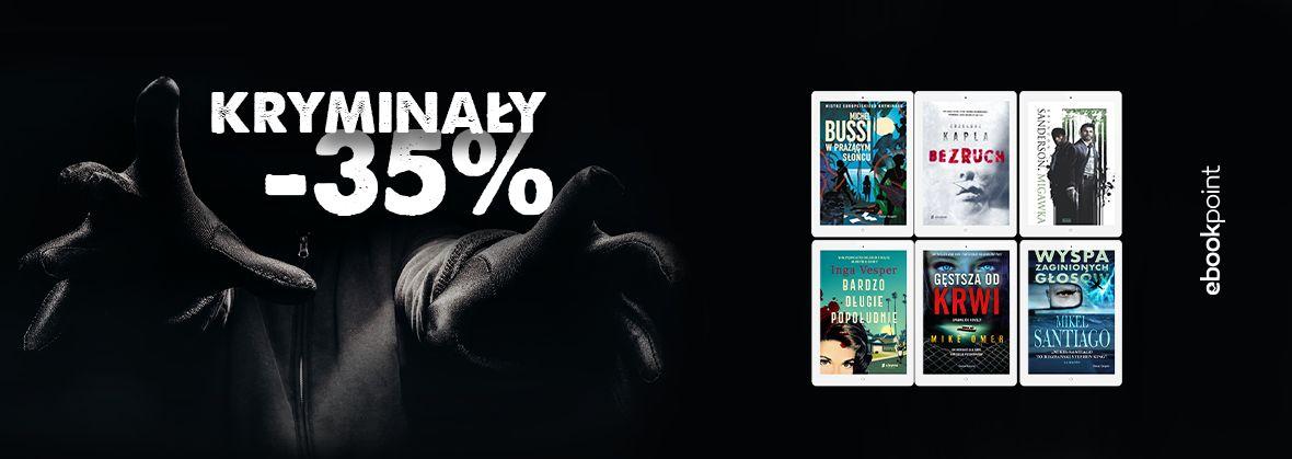 Promocja na ebooki KRYMINAŁY [-35%]