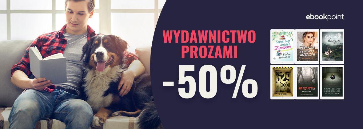 Promocja na ebooki Wydawnictwo PROZAMI / -50%