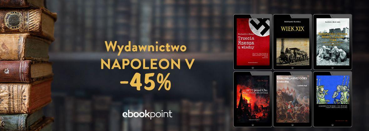 Promocja na ebooki Wydawnictwo NAPOLEON V [-45%]