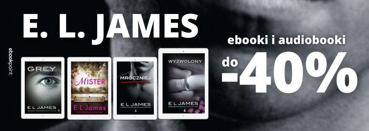 Promocja na ebooki E. L. James / do -40%!