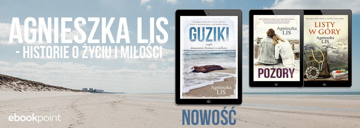 Promocja na ebooki Agnieszka LIS [do -55%]