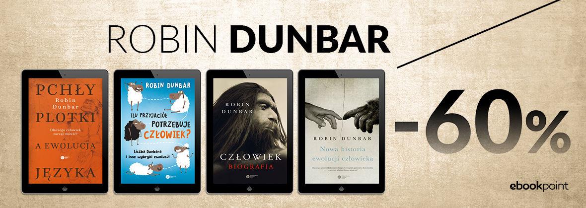 Promocja na ebooki Robin DUNBAR / -60%