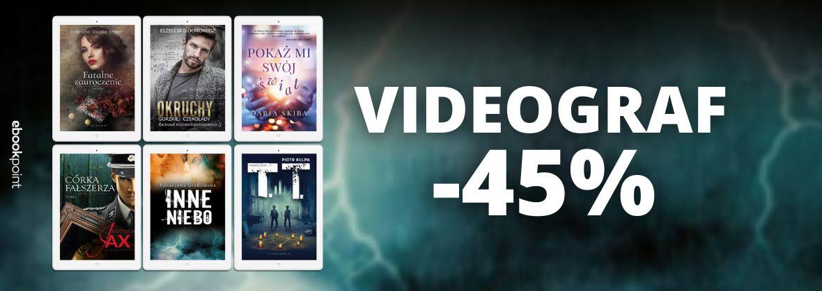 Promocja na ebooki VIDEOGRAF / -45%