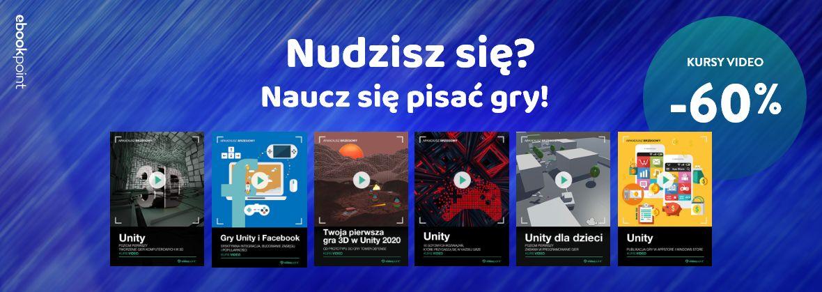Promocja na ebooki Nudzisz się? Naucz się pisać gry!