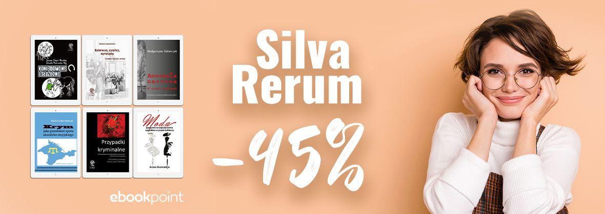Promocja na ebooki Silva Rerum -45%
