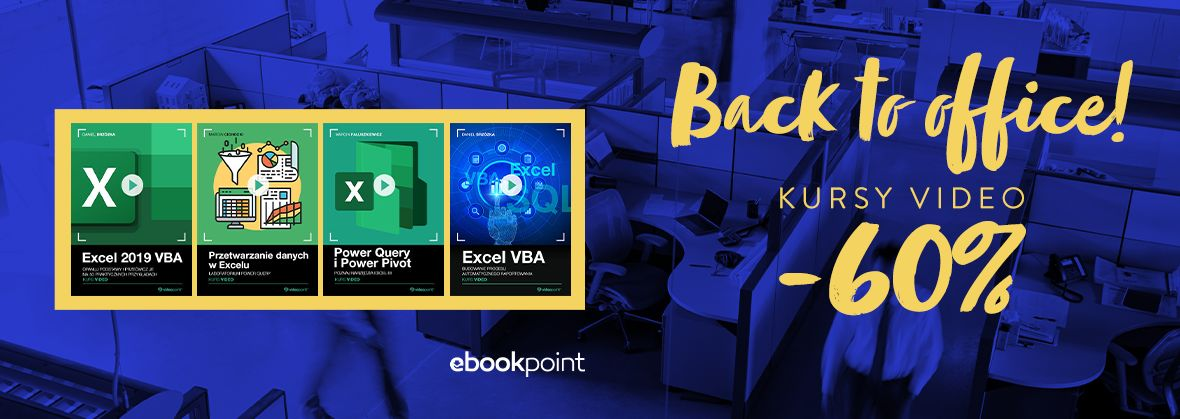 Promocja na ebooki Back to office -60%