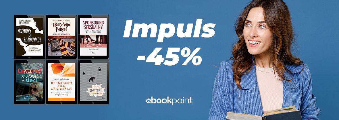 Promocja na ebooki Oficyna Wydawnicza IMPULS [-45%]