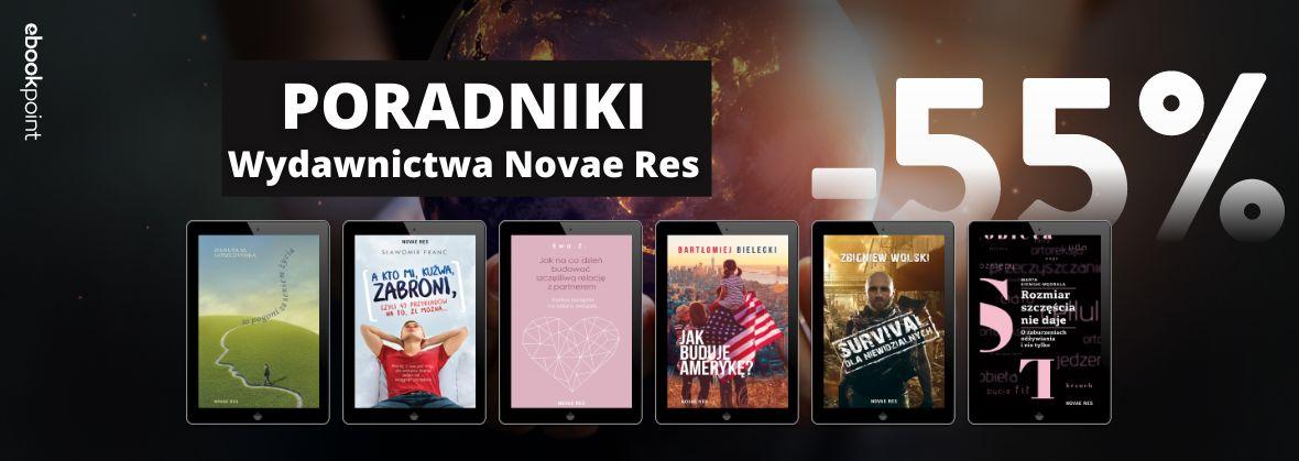 Promocja na ebooki Poradniki Wydawnictwa NovaeRes / -55%