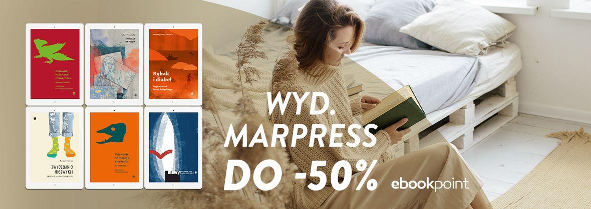 Promocja na ebooki Wyd. MARPRESS do -50%