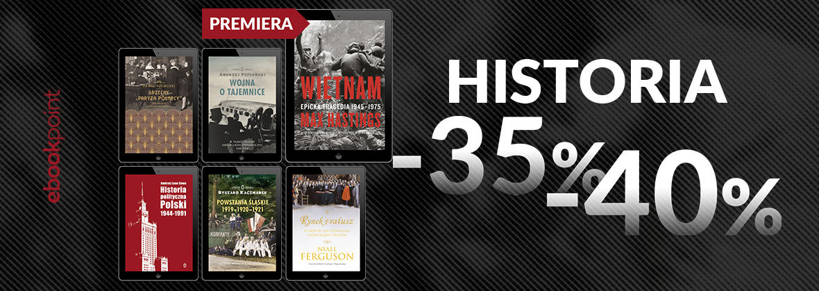 Promocja na ebooki HISTORIA / -35%, -40%
