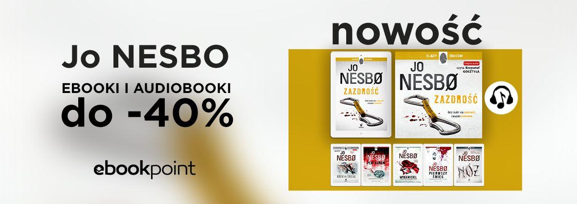 Promocja na ebooki Jo NESBO / ebooki i audiobooki do -40%