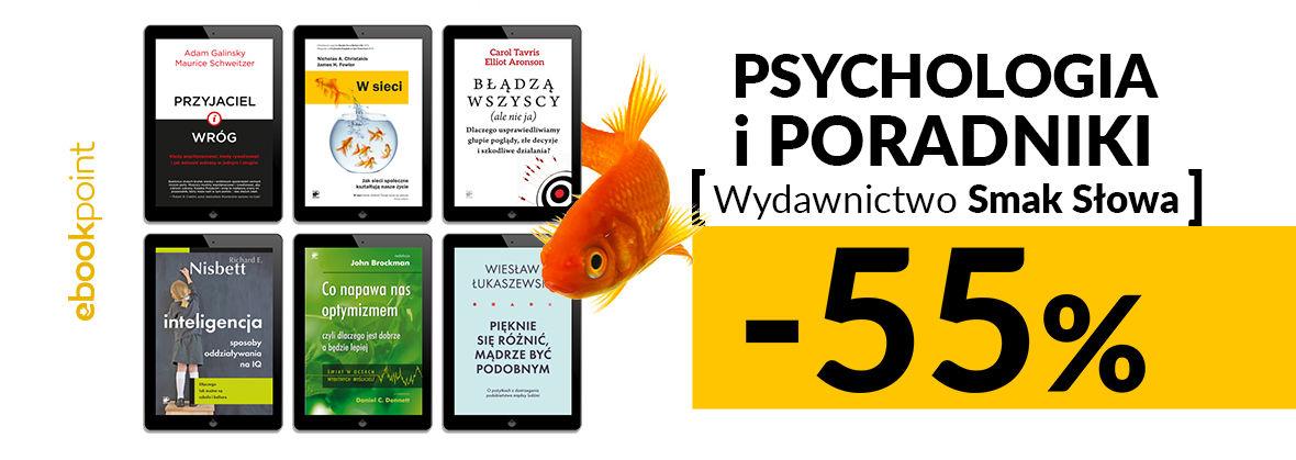 Promocja na ebooki Psychologia i poradniki / Smak Słowa / -55%