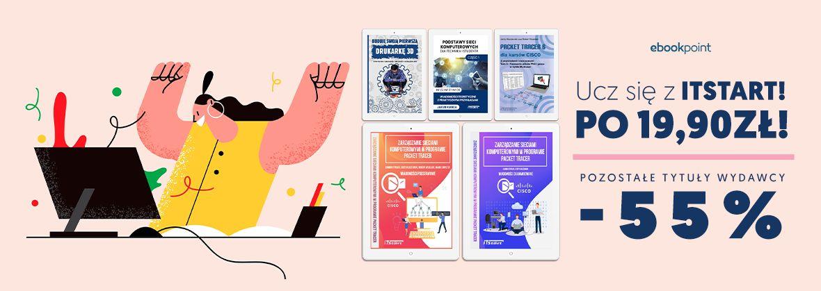 Promocja na ebooki Ucz się z ITStart!