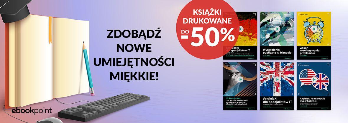 Promocja na ebooki Zdobądź nowe umiejętności miękkie!