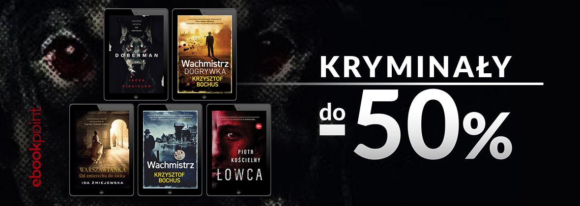 Promocja na ebooki Skarpa Warszawska [kryminały do -50%]