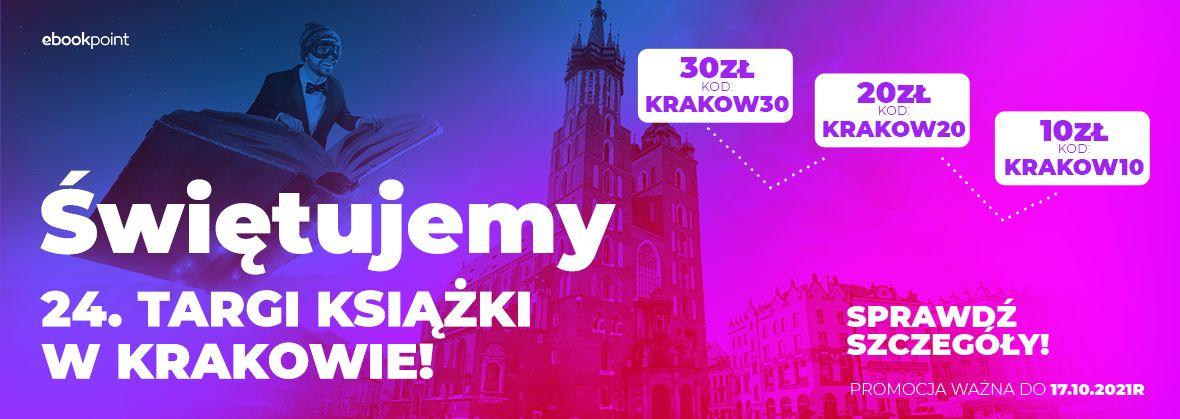 Promocja na ebooki Świętujemy 24. TARGI KSIĄŻKI W KRAKOWIE! / Złap swój rabat!