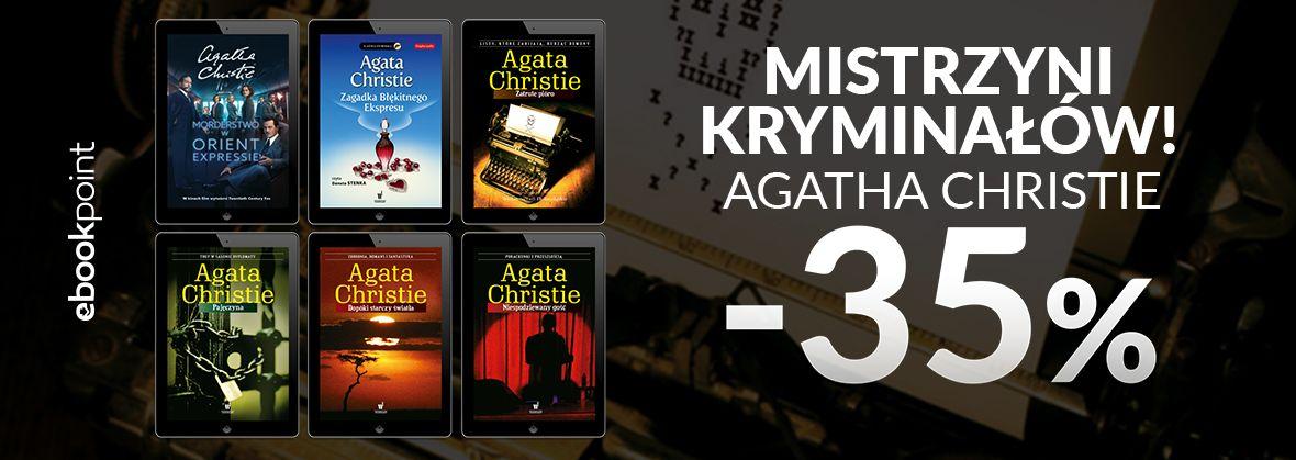 Promocja na ebooki MISTRZYNI KRYMINAŁÓW! / Agatha Christie -35%