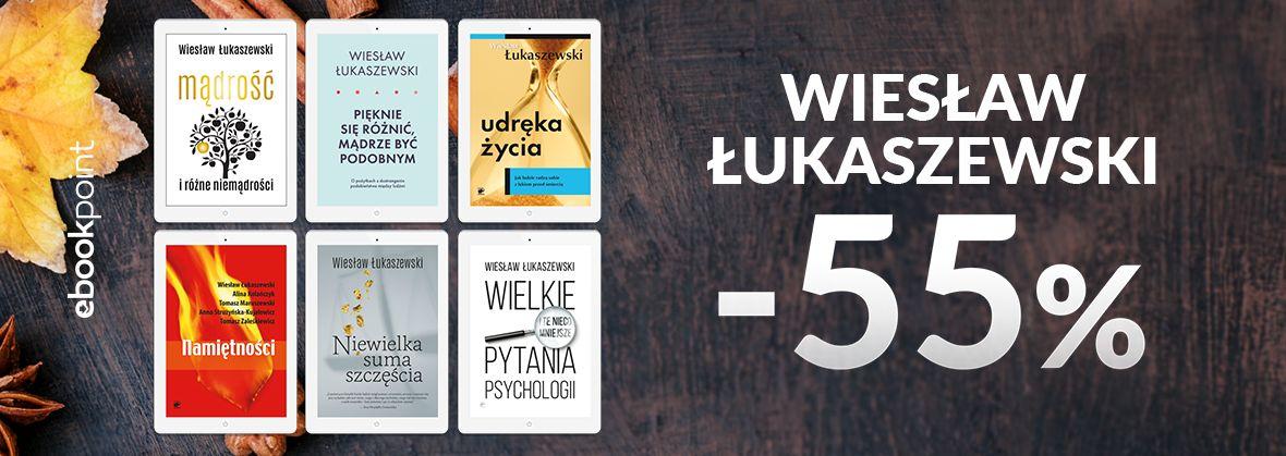 Promocja na ebooki Wiesław Łukaszewski -55%