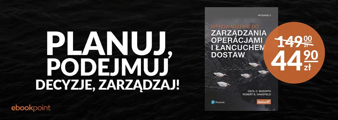 Promocja na ebooki Planuj, podejmuj decyzje, zarządzaj! / Książka drukowana 44,90zł zamiast 149zł!