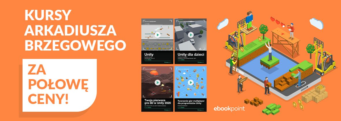 Promocja na ebooki Kursy Arkadiusza Brzegowego za połowę ceny!