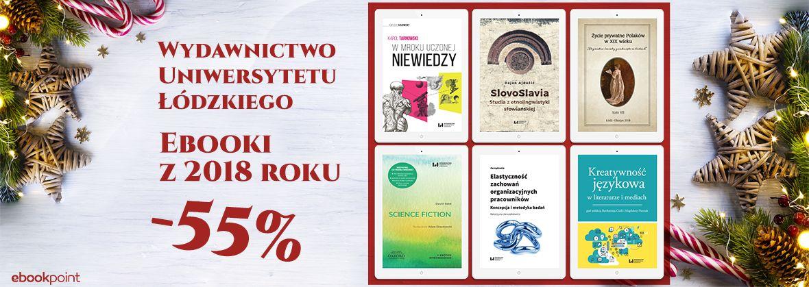 dd7d30da4228d3 Wydawnictwo Uniwersytetu Łódzkiego - ebooki 2018 [-55%] « Ebooki ...