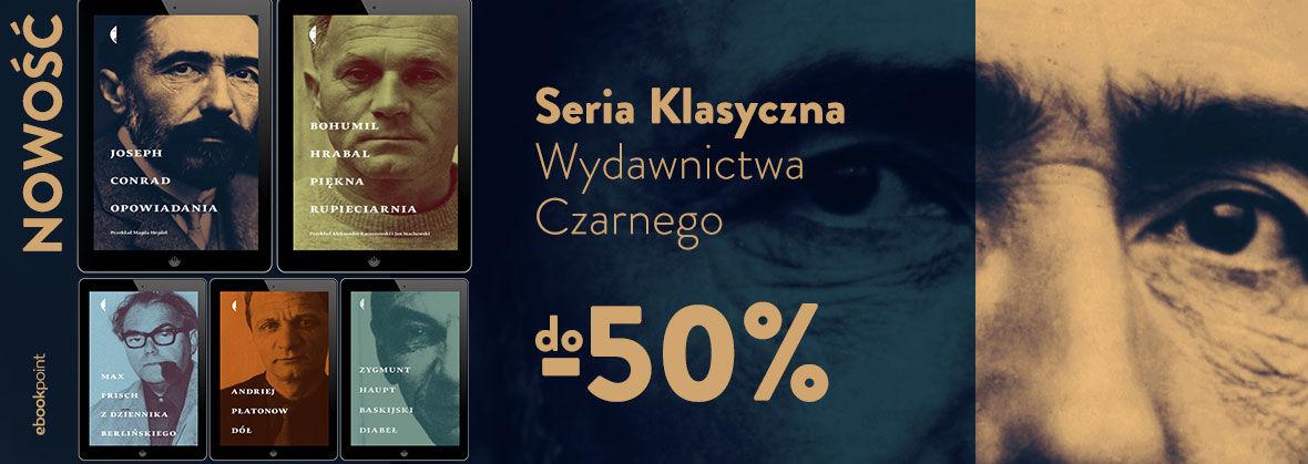 Promocja Seria Klasyczna Wydawnictwa Czarnego [do -50%]
