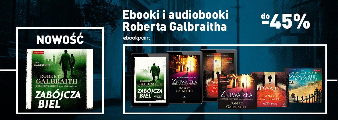 Promocja Ebooki i audiobooki Roberta Galbraitha [do -45%]