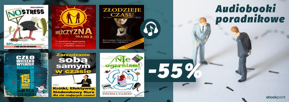 Promocja Posłuchaj porady [audiobooki -55%]