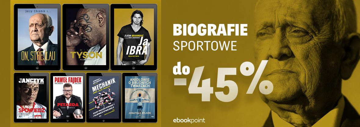 Promocja BIOGRAFIE SPORTOWE [do -45%]