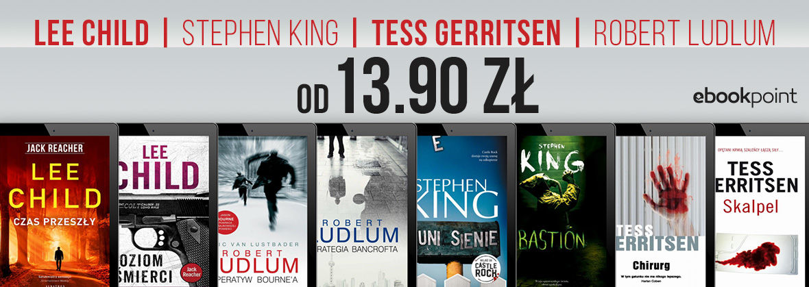 LEE CHILD | STEPHEN KING | TESS GERRITSEN | ROBERT LUDLUM