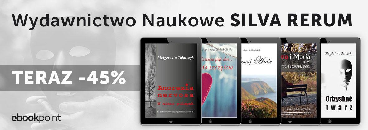 Promocja na ebooki Wydawnictwo Naukowe Silva Rerum