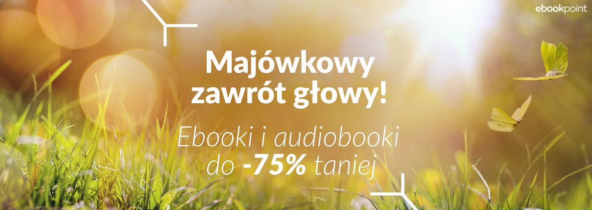 Promocja na ebooki MAJÓWKOWY ZAWRÓT GŁOWY!  [do -75%]