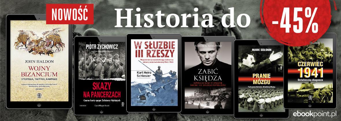 Promocja na ebooki Dom Wydawniczy REBIS [historia do -45%]