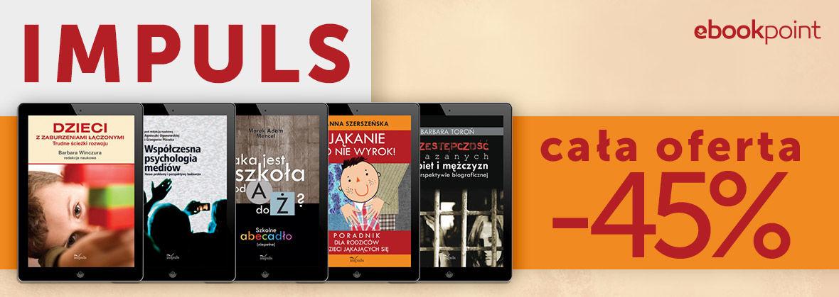 Promocja na ebooki IMPULS [cała oferta -45%]